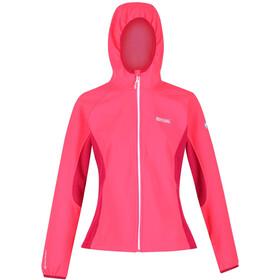 Regatta Arec II Chaqueta Softshell Mujer, neon pink/dark cerise